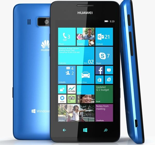 [CES 2014] Huawei Ascend W3 con Windows Phone 8 GDR3