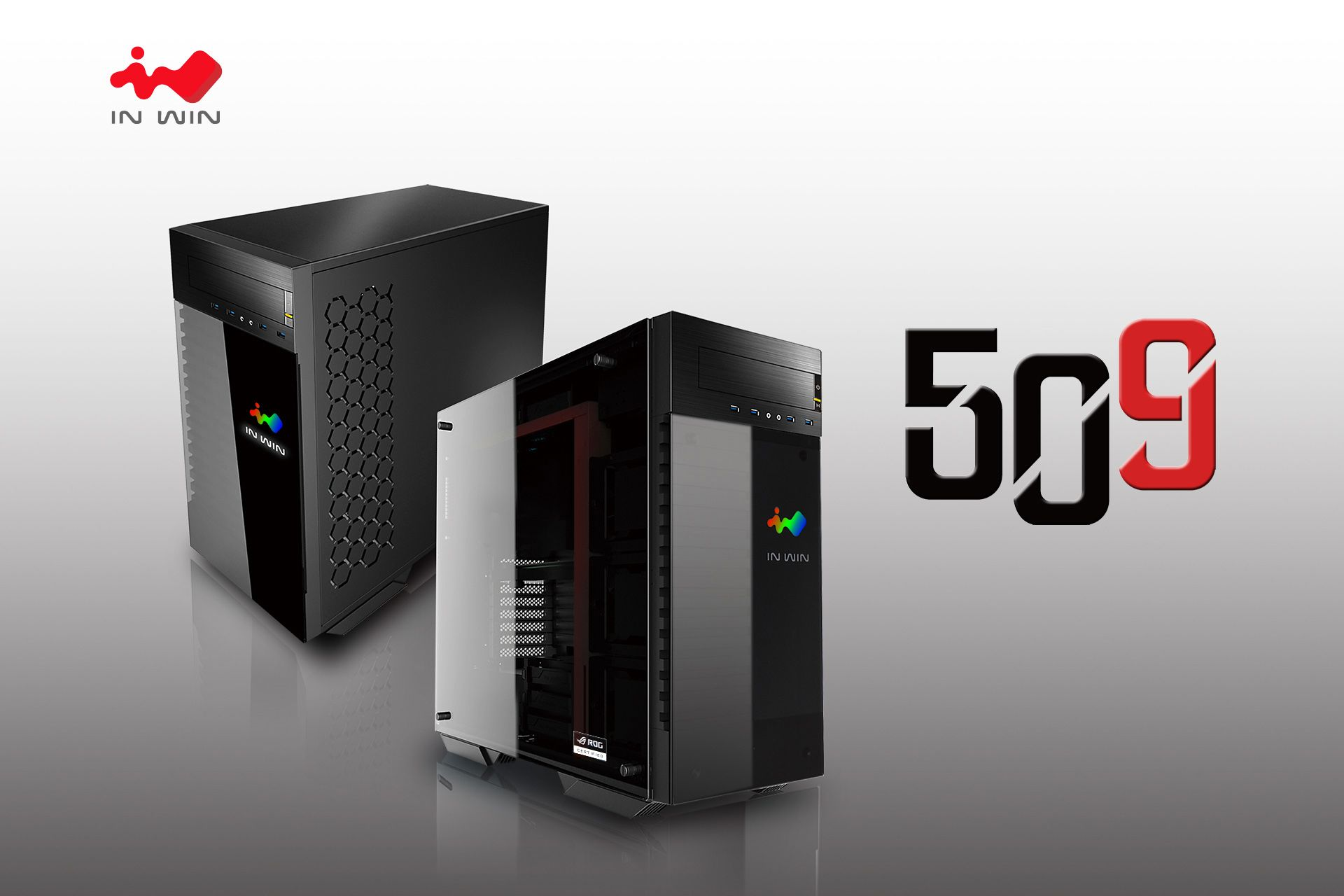 In Win presenta il nuovo Full Tower 509