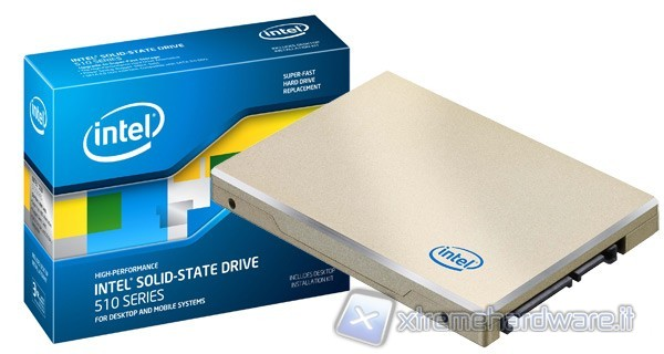 Intel SSD 510 250GB (codename Elmcrest)