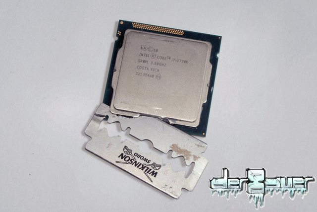 Intel Core i7-3770K in test con altra TIM ed LN2