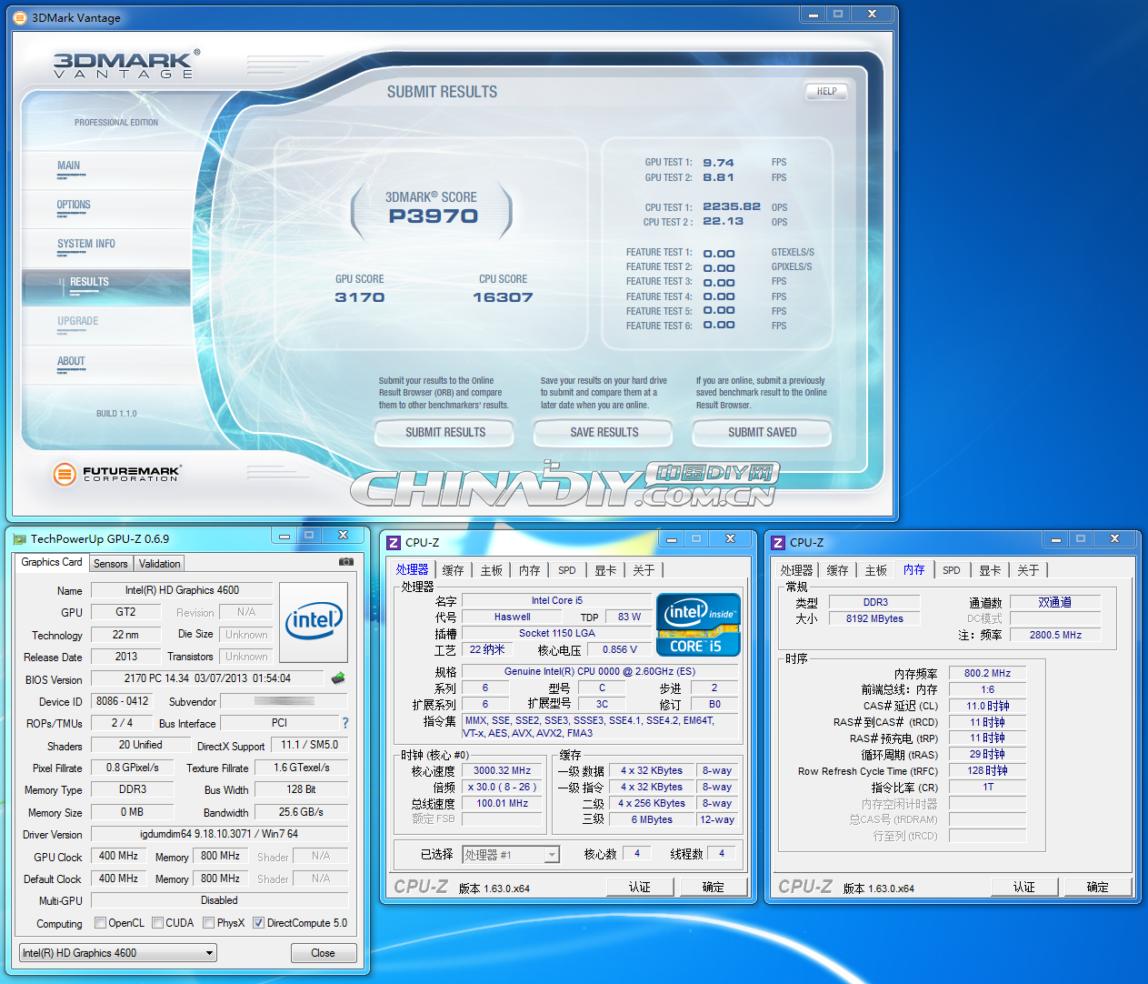 Intel Haswell Core i5 07