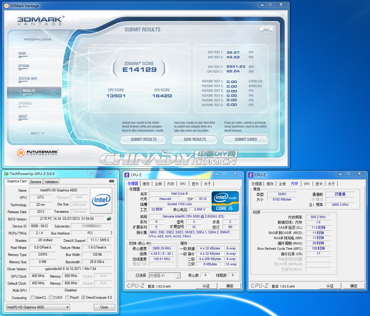 Intel Haswell Core i5 08
