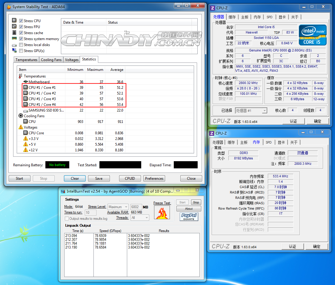Intel Haswell Core i5 09