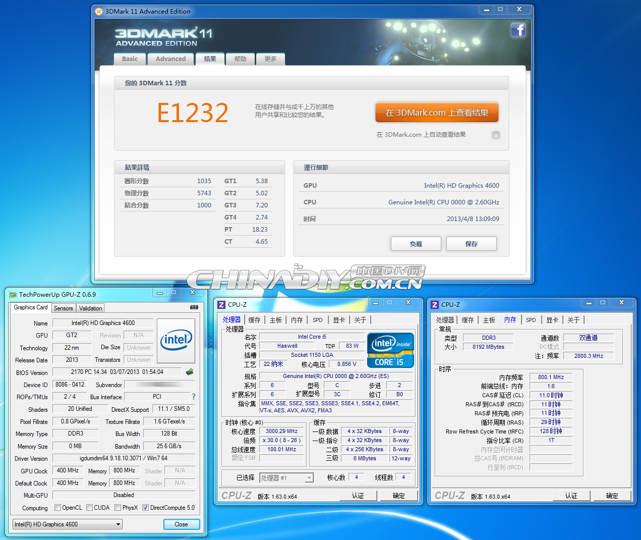 Intel Haswell Core i5 13