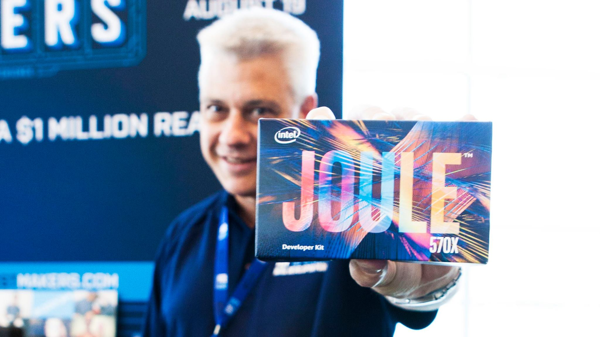 Intel James Jackson e Intel Joule