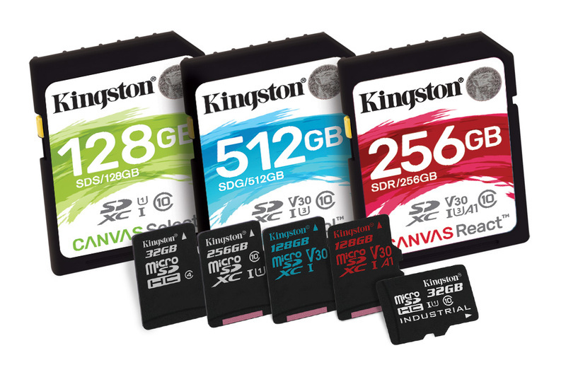Kingston Digital annuncia la nuova serie di schede Flash 'Canvas'