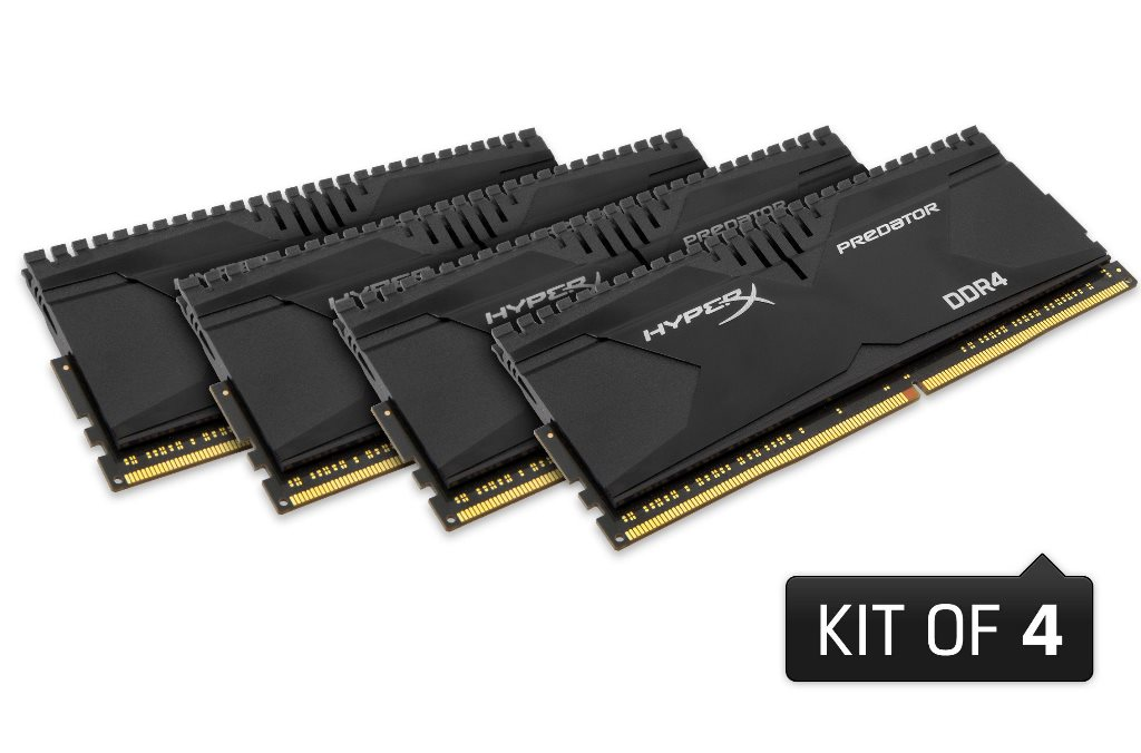 Kingston HyperX Pretador DDR4 fino a 3000 MHz