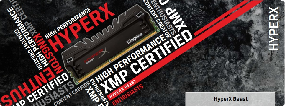 Kingston introduce le memorie DDR3 HyperX Beast