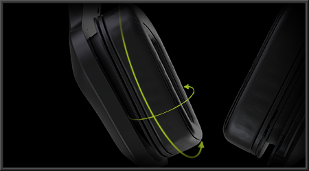 Swivel-ear-cup