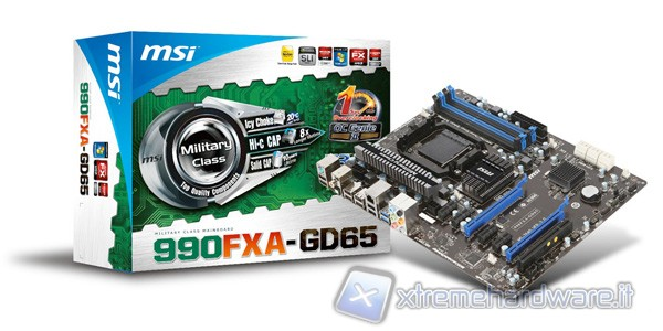 MSI 990FXA-GD65, a very good AM3+ motherboard, waiting for Bulldozer