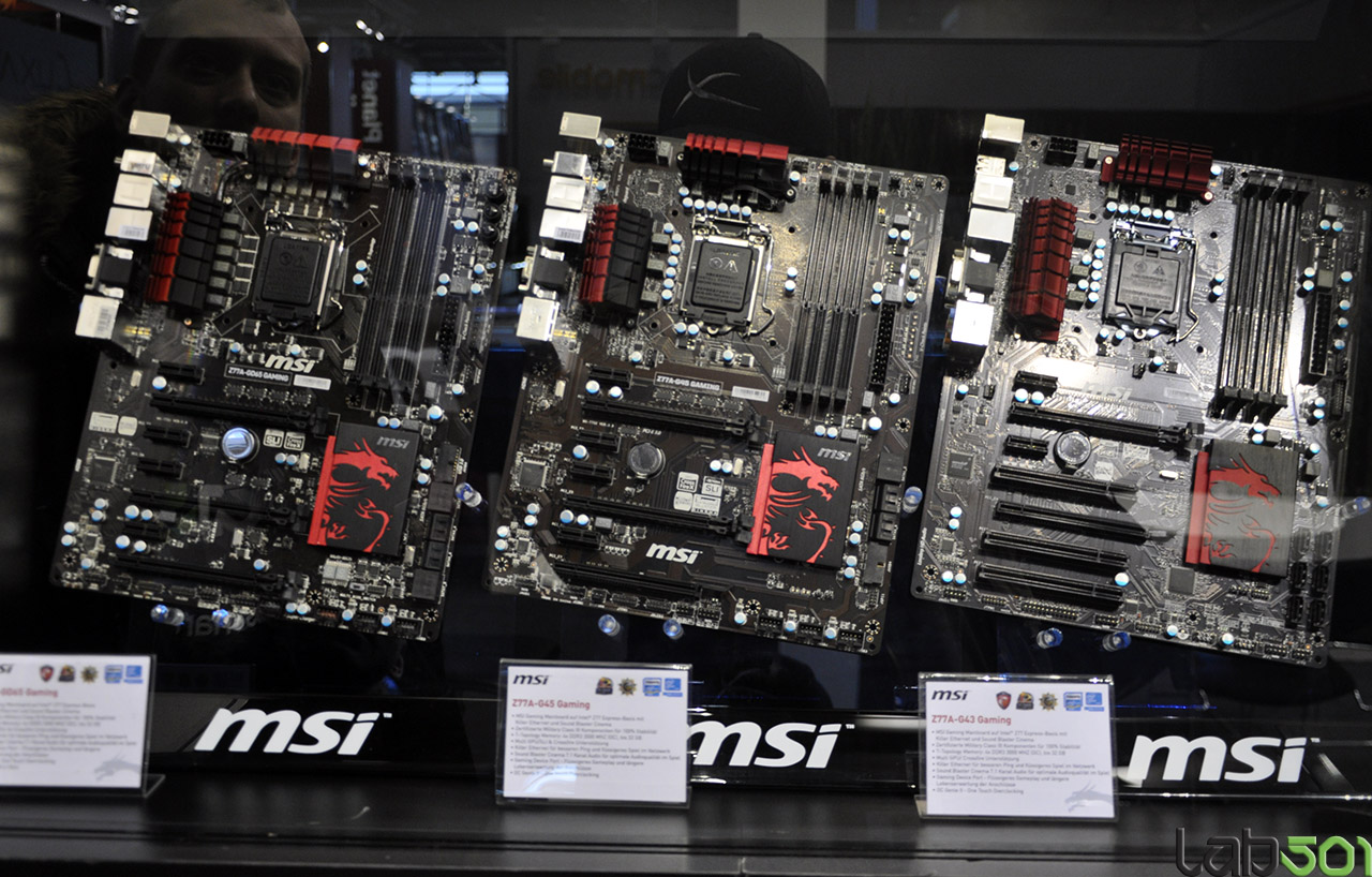 [CeBIT 2013] MSI Z77 Gaming e N660Ti PE Gaming Edition