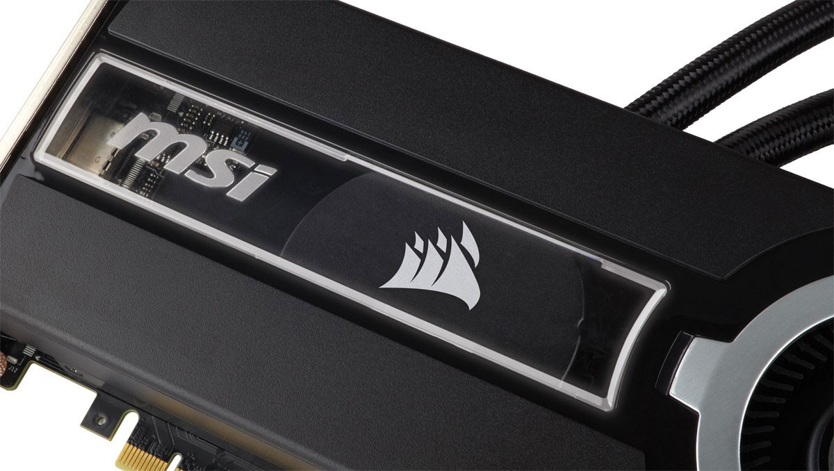 MSI presenta la GTX 980Ti Sea Hawk in collaborazione con Corsair