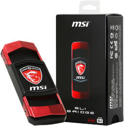 MSI SLi bridge