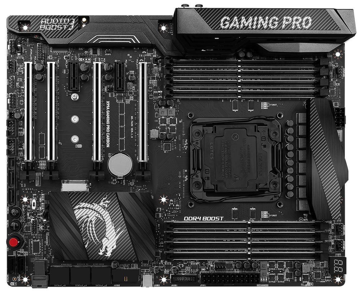 MSI X99A Gaming PRO Carbon 1