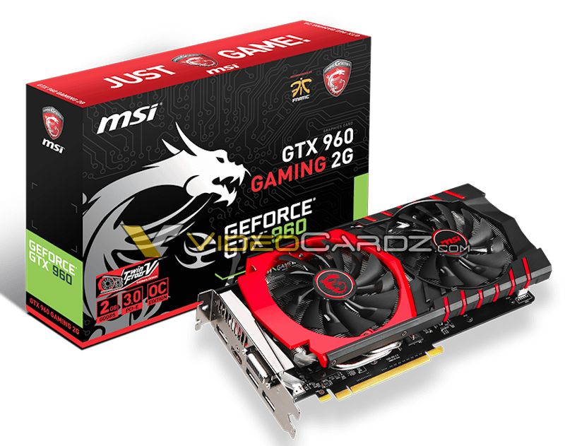 MSI GeForce GTX 960 in versione Gaming e 100ME