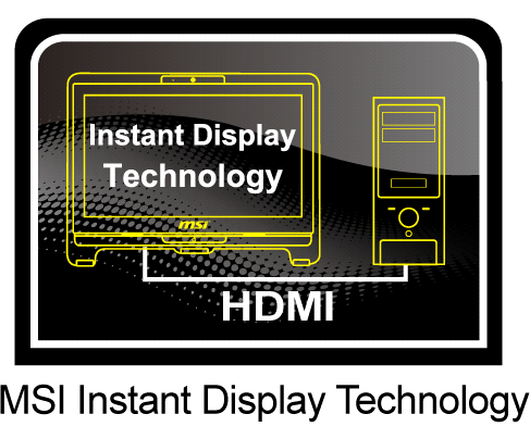 instant display