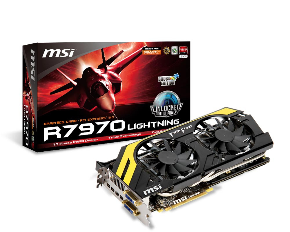 MSI presenta la R7970 Lightning Boost Edition