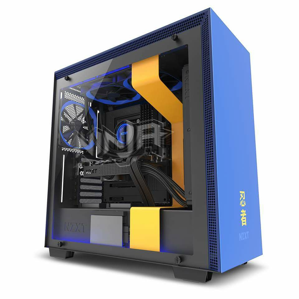 Vittoria Royale: NZXT annuncia il nuovo chassis H700i Ninja Edition
