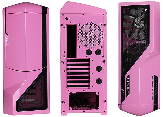 Nzxt Phantom In Versione Pink Un Cabinet Per Il Pubblico