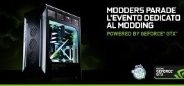 Modders Parade powered by NVIDIA a Milano!
