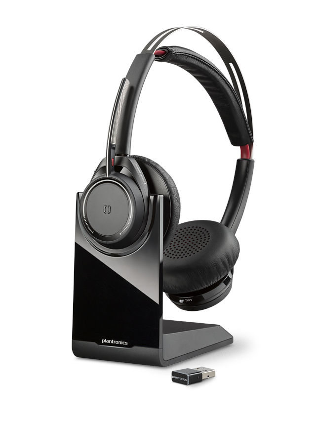 plantronics voyager focus uc wireless headset 1