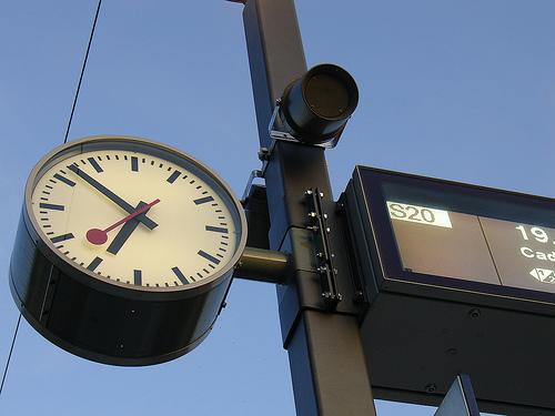 L 39 orologio della ferrovia svizzera in ios 6 e i diritti for Orologio della samsung