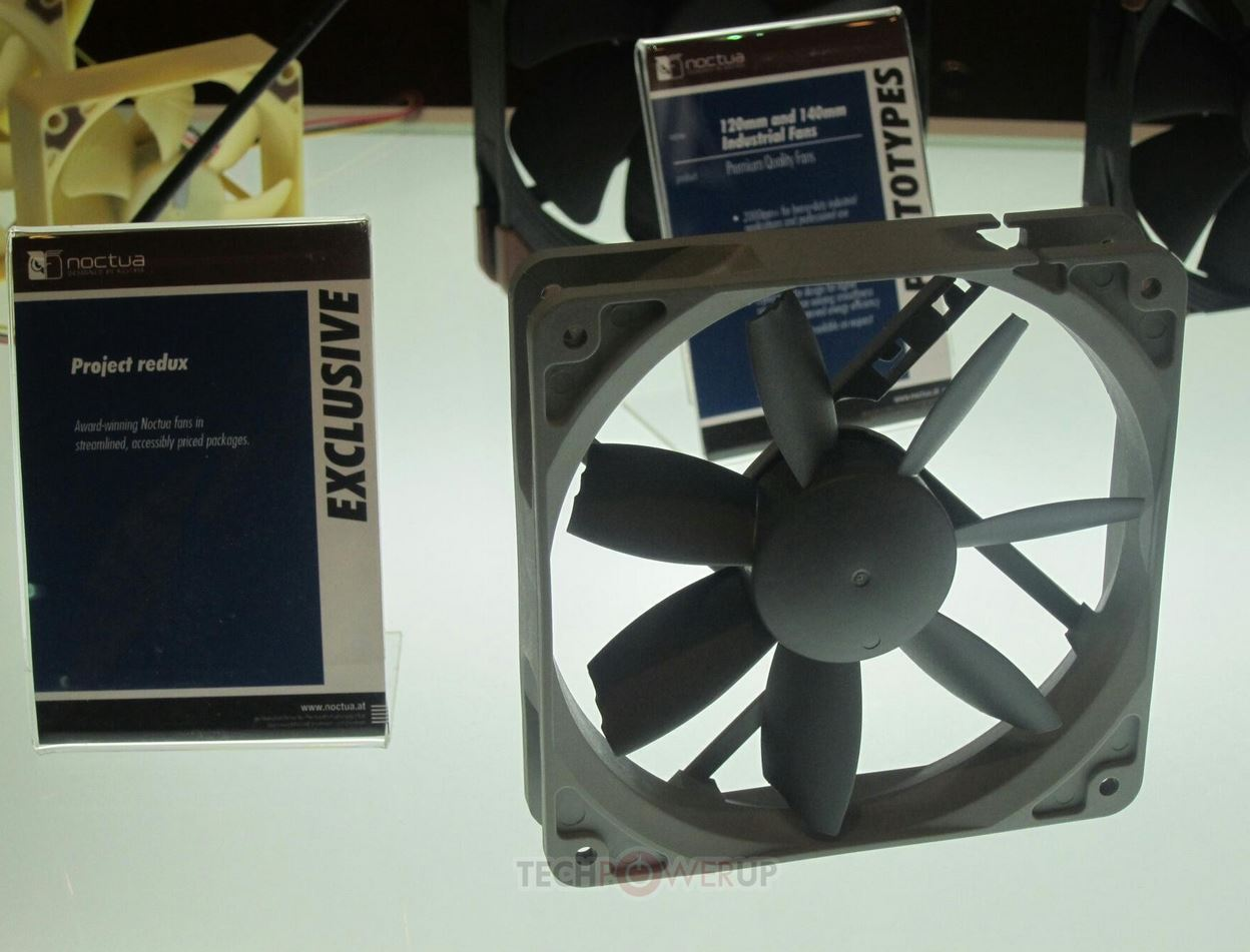 Noctua fan project redux