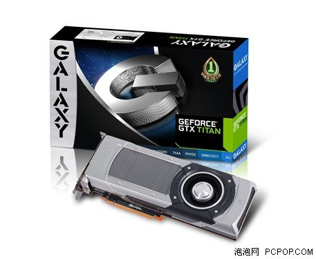 Galaxy NVIDIA GeForce GTX Titan