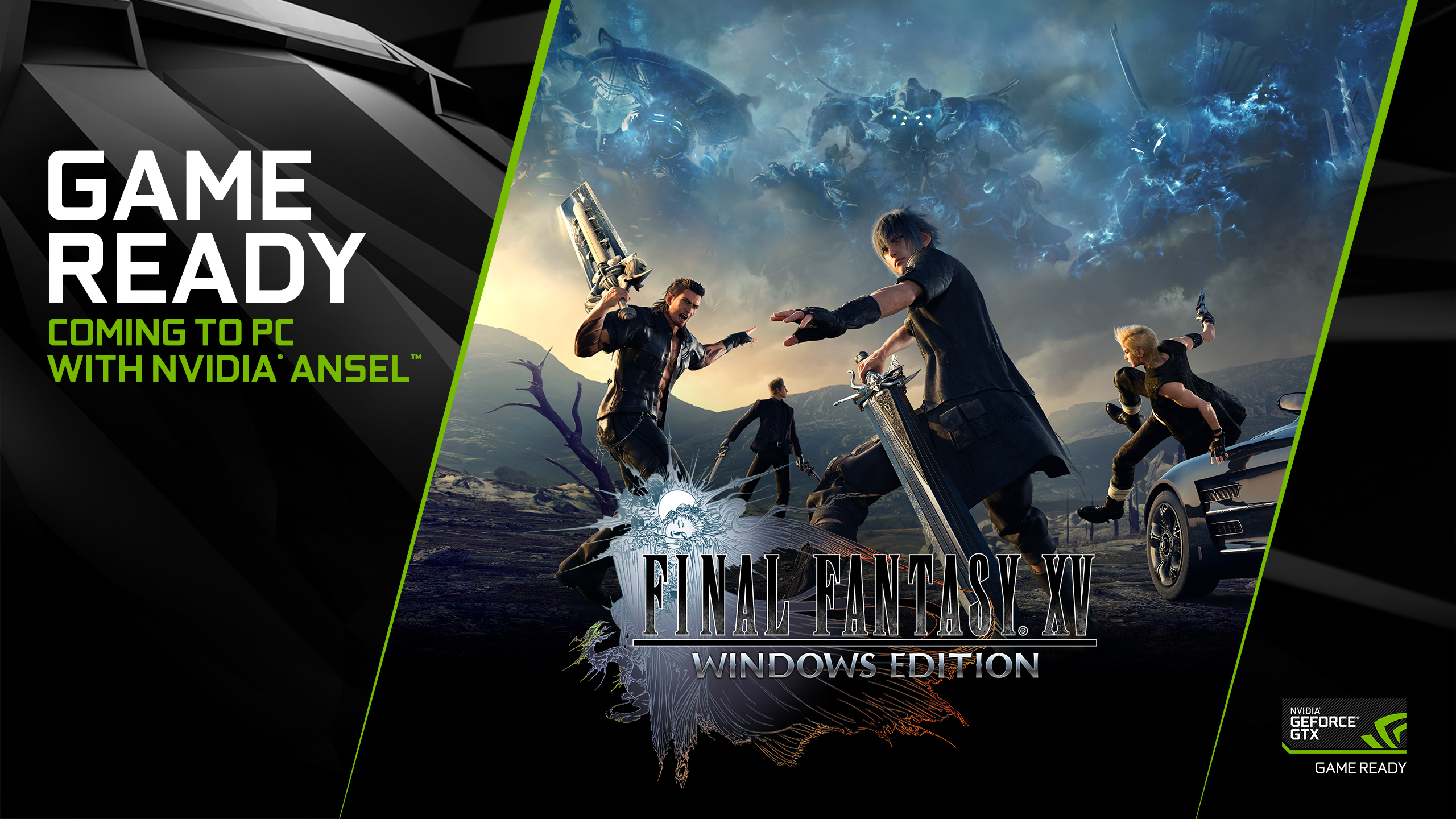 DIsponibili nuovi driver Geforce Game Ready per Final Fantasy XV e molto altro