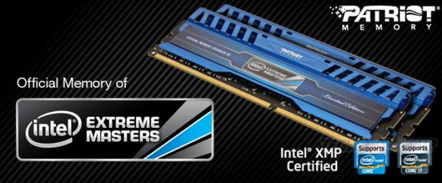 Patriot lancia i kit Intel Extreme Memory Masters Limited Edition