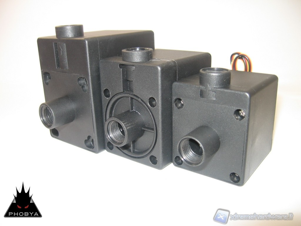 Comparative test of PHOBYA DC12-220, DC12-260 and DC12-400 Pumps