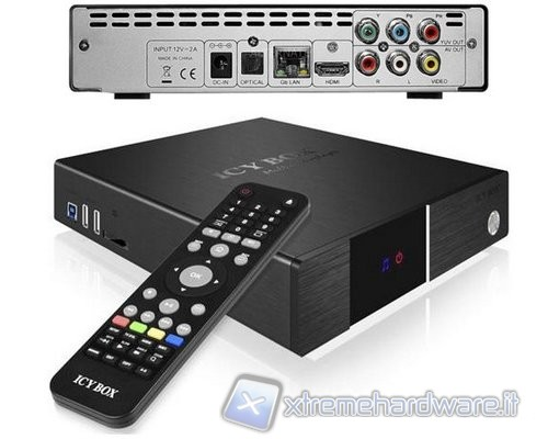 RaidSonic ICY BOX IB-MP3011Plus, quasi un HTPC