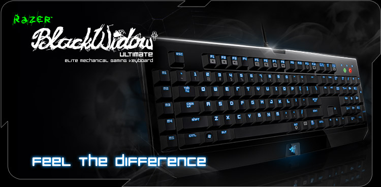 Razer Blackwidow Ultimate: Tastiera per gamer professionisti
