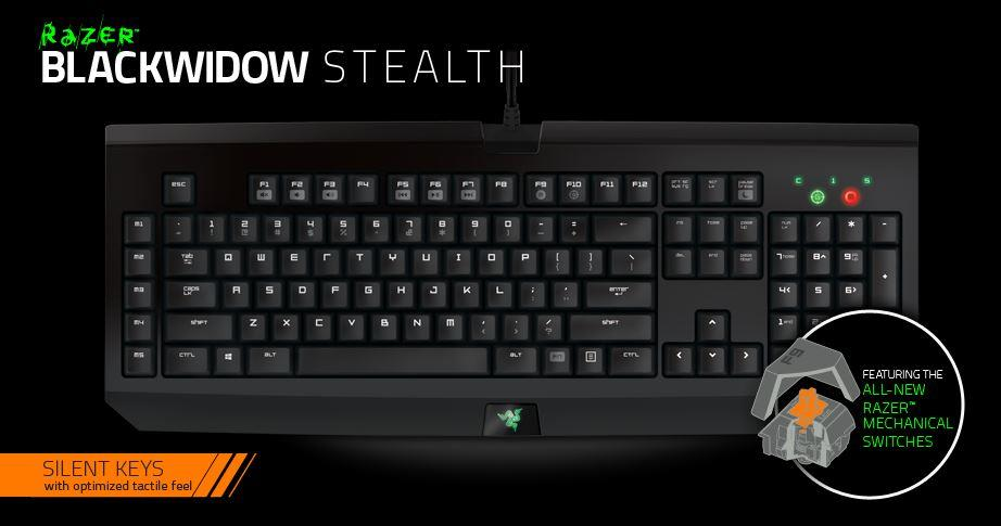 Razer blackwidow stealth edition 01