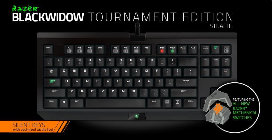 Razer blackwidow tournament stealth edition 01