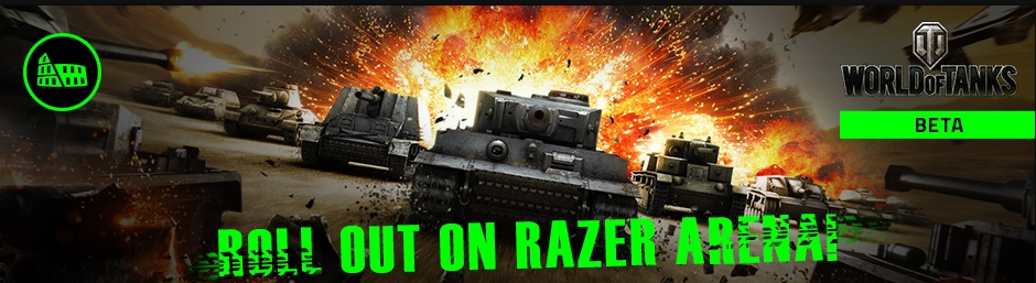 world of tanks razer arena