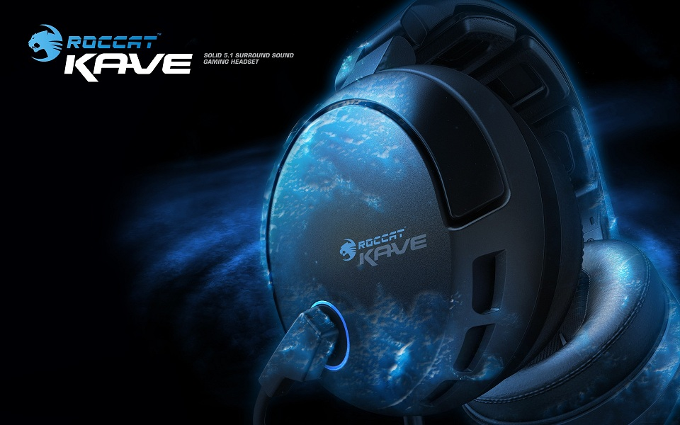 ROCCAT Kave - Solid 5.1 Surround Gaming Headset