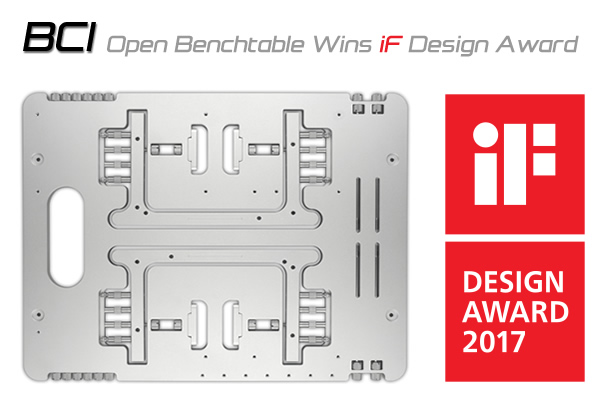 Lo Streacom BC1 Open Benchtable vince l'IF Design Award 2017