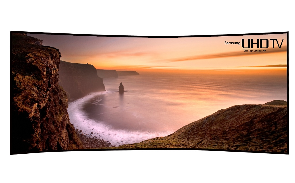 Samsung Curved UHD TV 105 pollici