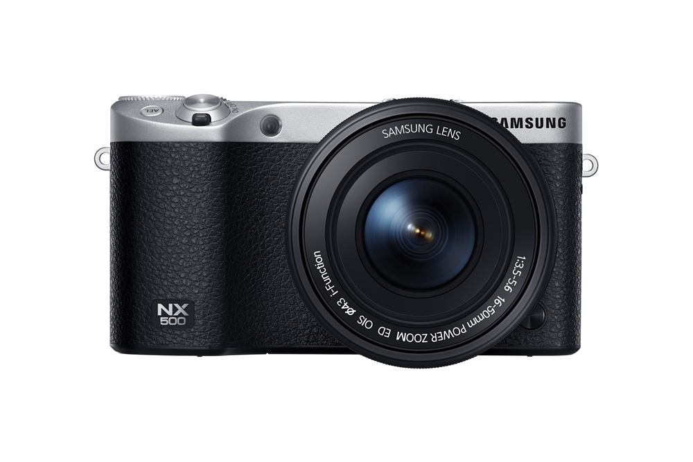 Samsung NX500 - front