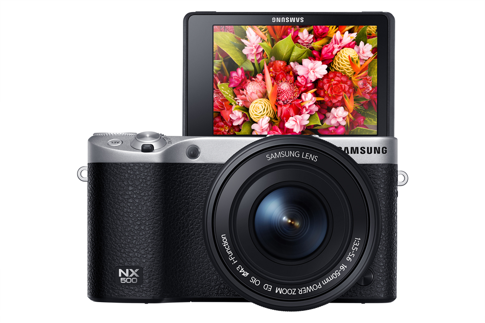 Samsung NX500 - tilt display