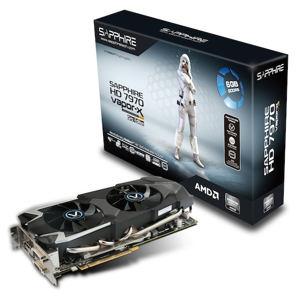 Presentate due nuove schede SAPPHIRE HD 7970 Vapor-X Edition