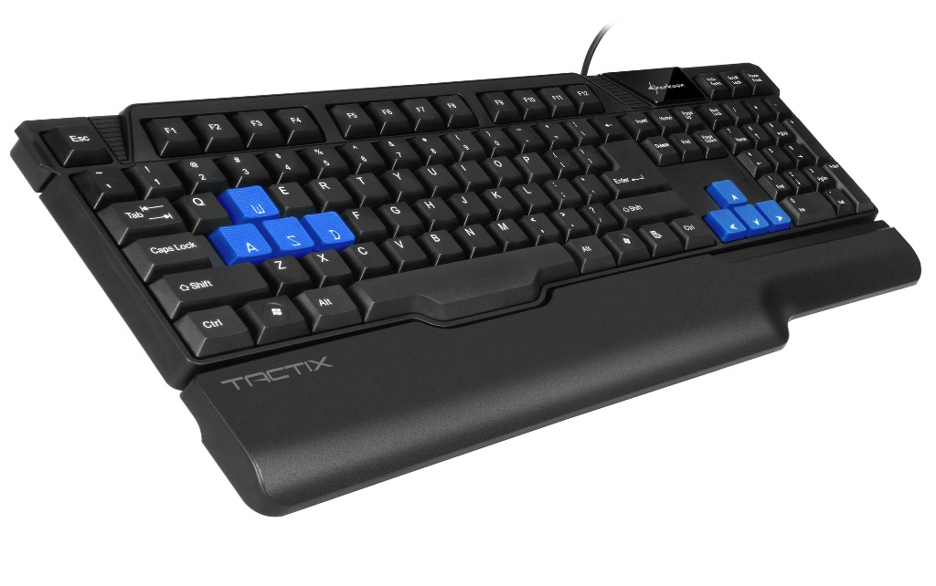 Sharkoon Tactix Gaming Keyboard 01
