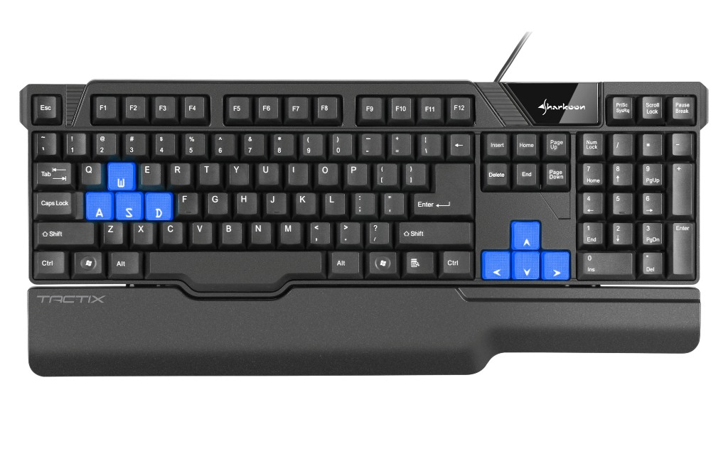 Sharkoon Tactix Gaming Keyboard 02