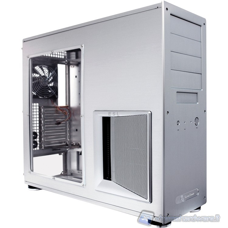 SilverStone Temjin TJ09 silver windowed