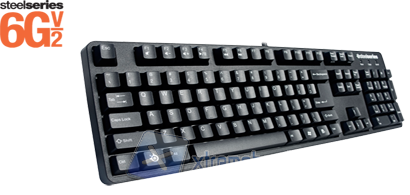 SteelSeries 6gv2, Keyboard Senza Fronzoli