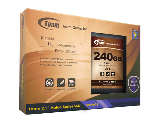 Teamgroup SSD A1 PKG 240GB