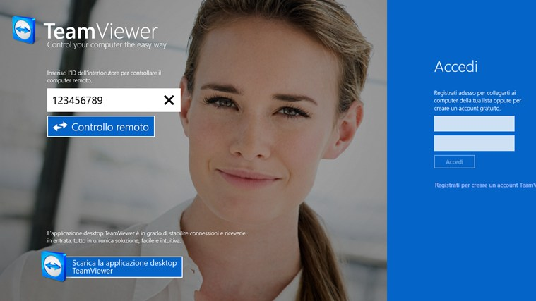 TeamViewer app touch windows 8 01