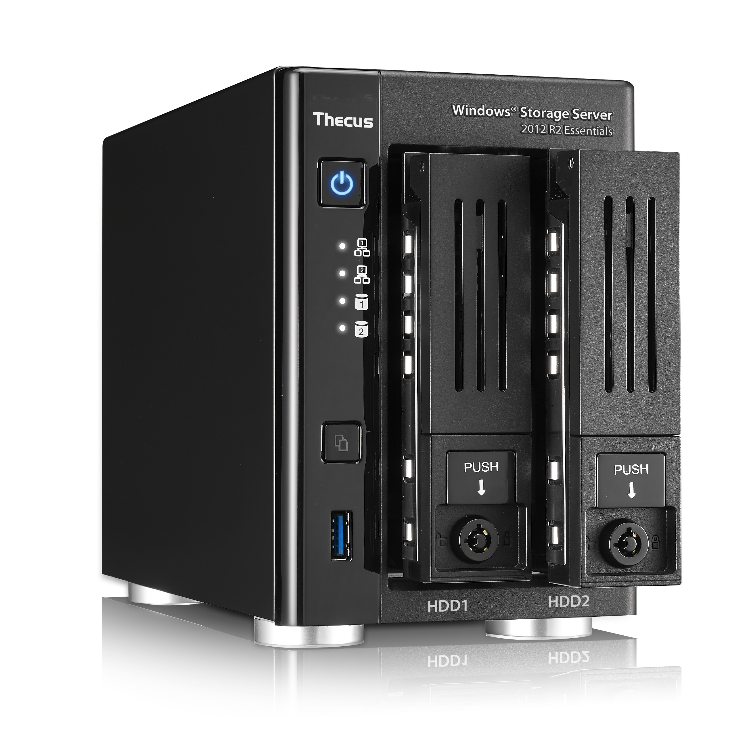 Thecus W2810PRO, un NAS basato su Windows Storage Server R2 Essentials, ideale per le piccole imprese