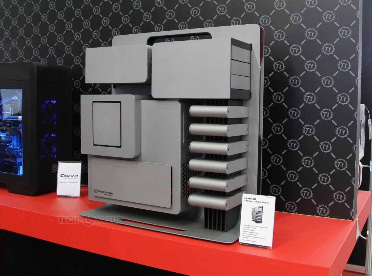 [Computex 2014] Thermaltake Level 10 Titanium Limited Edition svelato